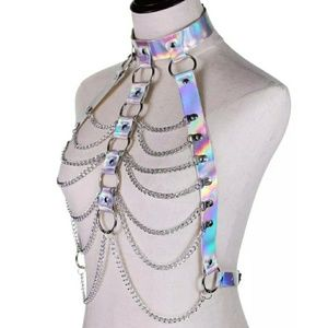 Holographic Body Harness